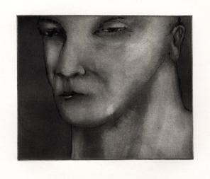 Portret, carborundummezzotint