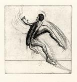 Danser, ets, 1973