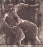 Danser, carborundumezzotint