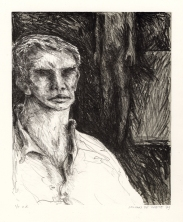 De dood van Boetak Hoiting, litho, 1979