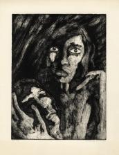 De dood van WS, ets, 1974