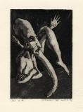 De val, ets-aquatint, 1975