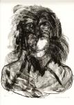 Dubbelportret, litho, 1977
