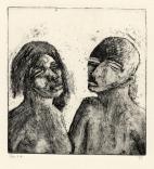 Echtpaar, ets, 1975