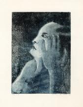 Blue man, ets, 1975