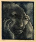 Portret, carborundummezzotint, 1975