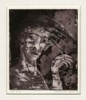 Portret, gemengde techniek, 1975