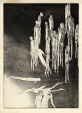 Voorbij de hemel, ets-aquatint, 1973